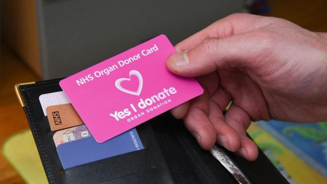 The law relating to organ donation will change in spring next year