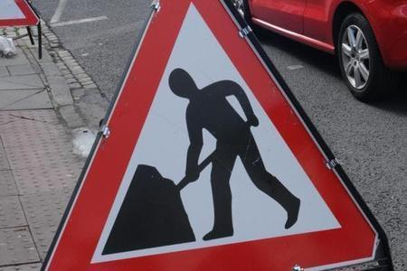 The roadworks scheduled before April