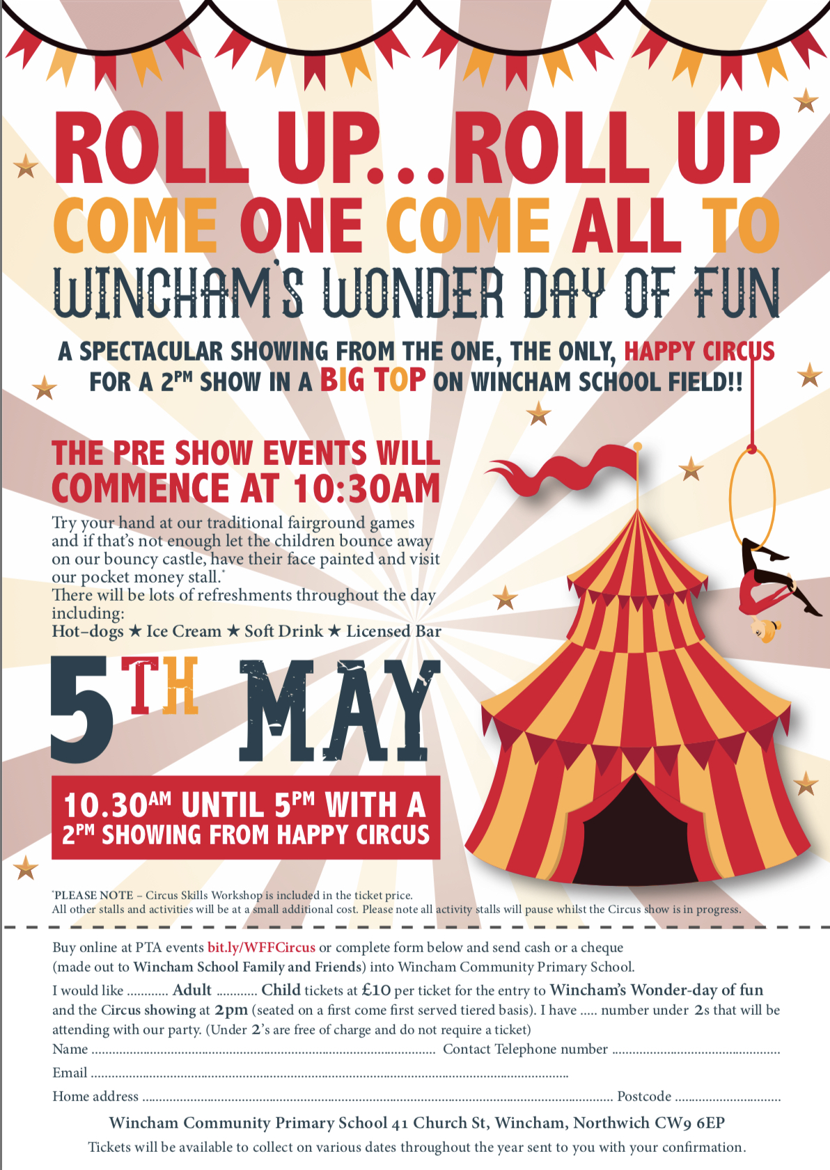 Wincham Wonder Day of Fun (Happy Circus)