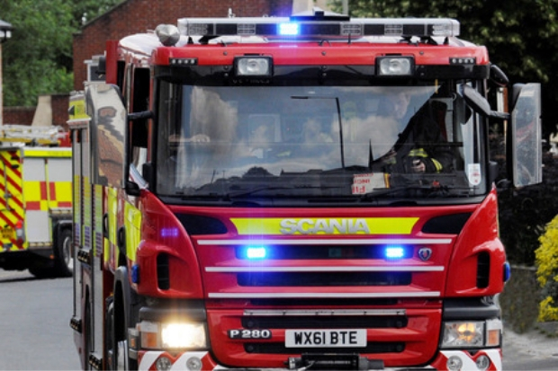 Firefighters called to fire in Basford Way