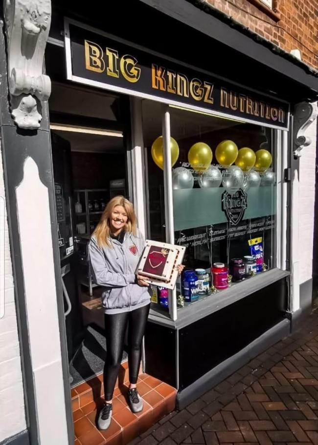 Big Kingz Nutrition opened on Monday, March 11