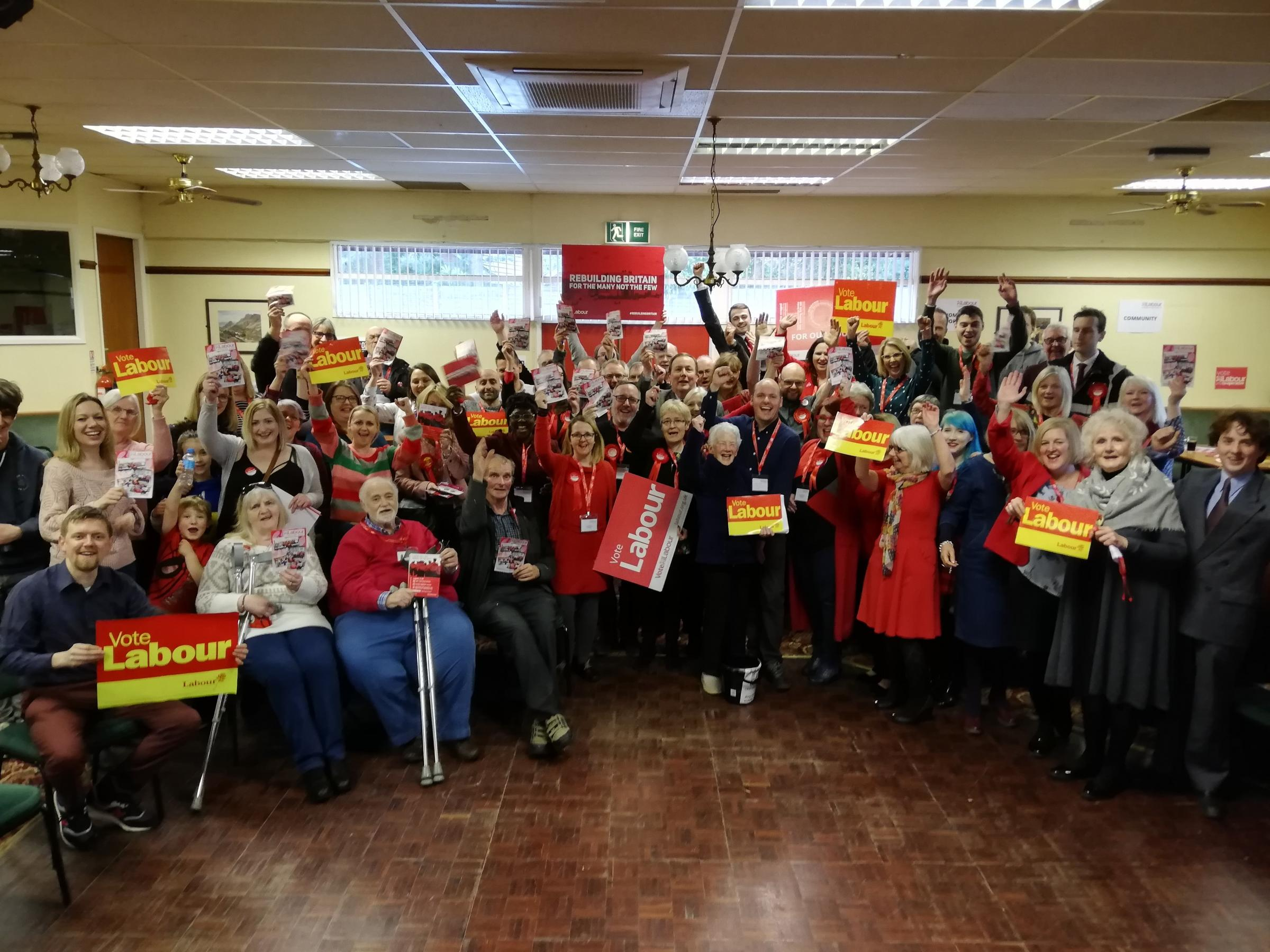 Labour candidates in Cheshire East launch their manifesto for May\'s election