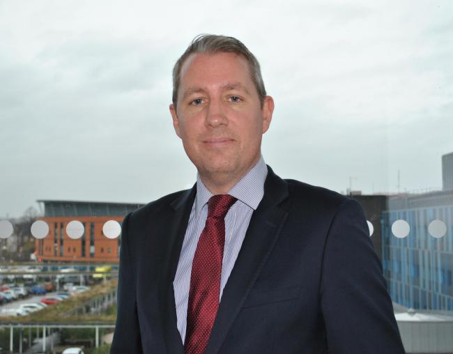 James Sumner, chief executive of Mid Cheshire Hospitals NHS Trust