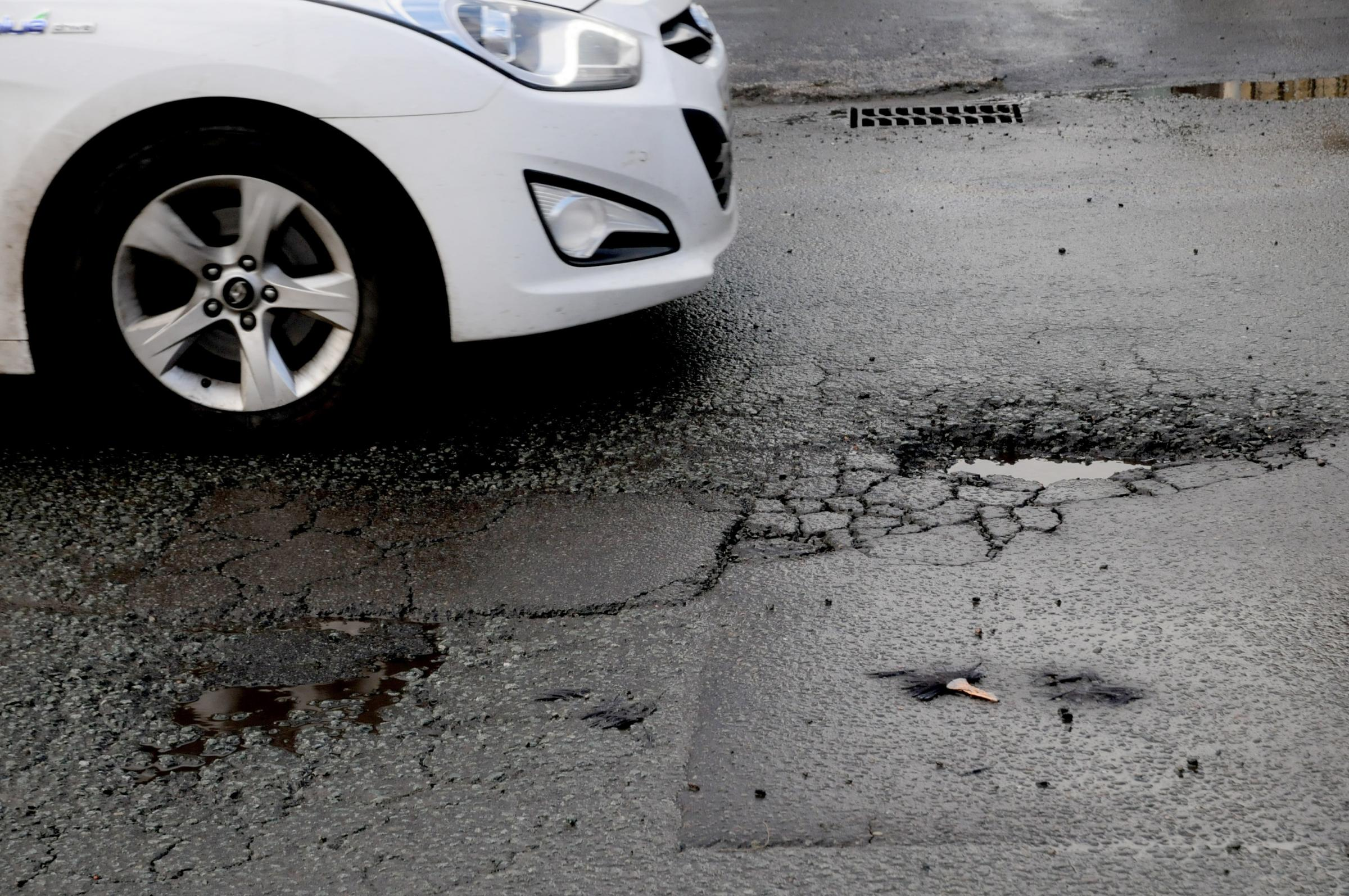 Cash boost to fix potholes – but councillor warns roads might never be restored