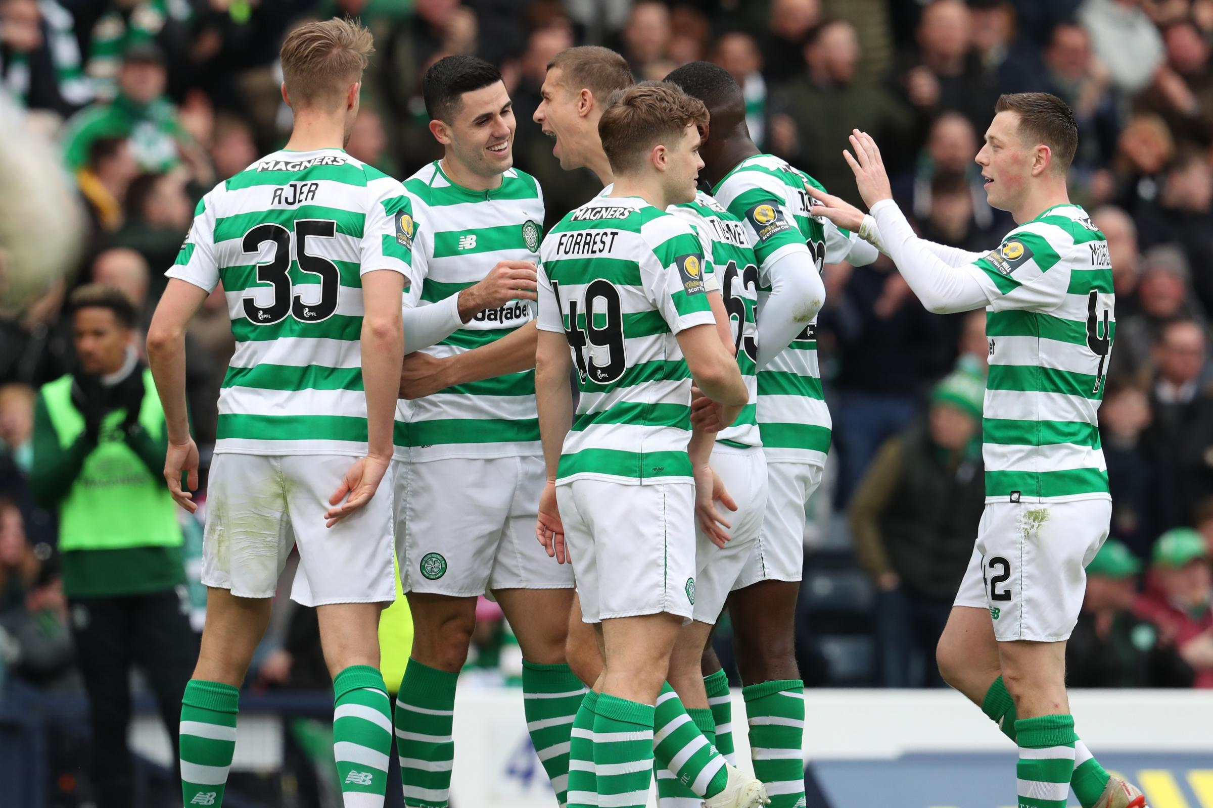 Celtic are still on course for another domestic treble