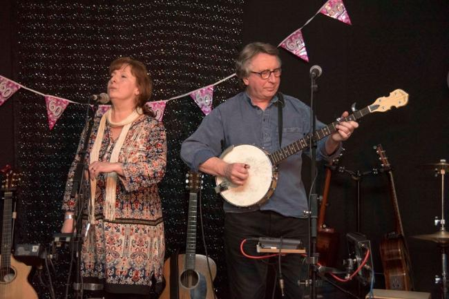 Folk club welcomes back Ruth and Ken Powell