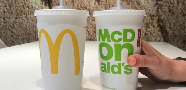 New McDonald's paper straws can't be recycled. Pic credit: McDonald's