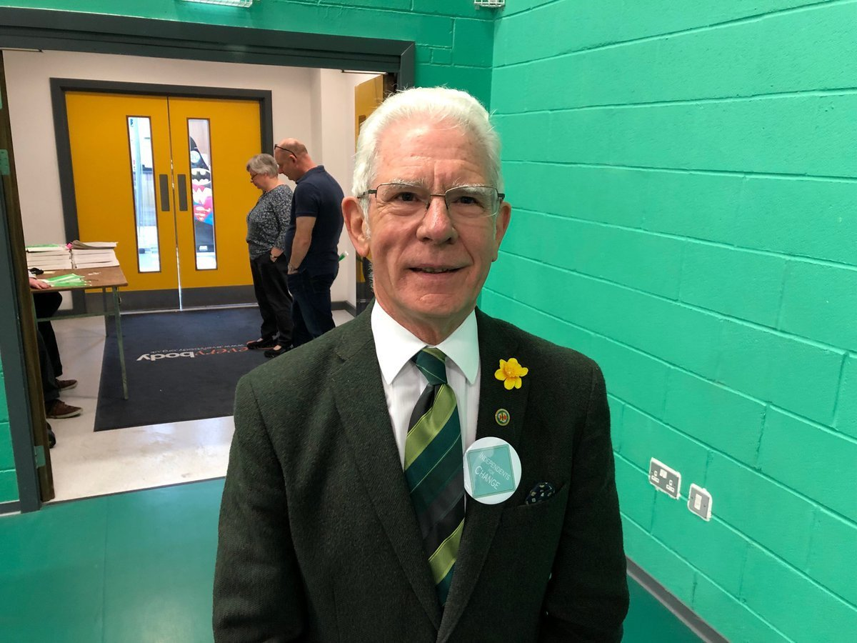 Cllr Arthur Moran, outgoing independent group leader on CEC