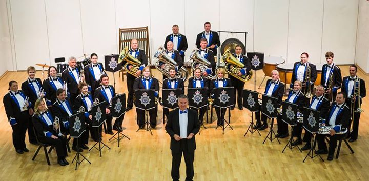 Cheshire Police Band is performing a charity concert at Middlewich Civic Hall this evening in aid of Help The Heroes