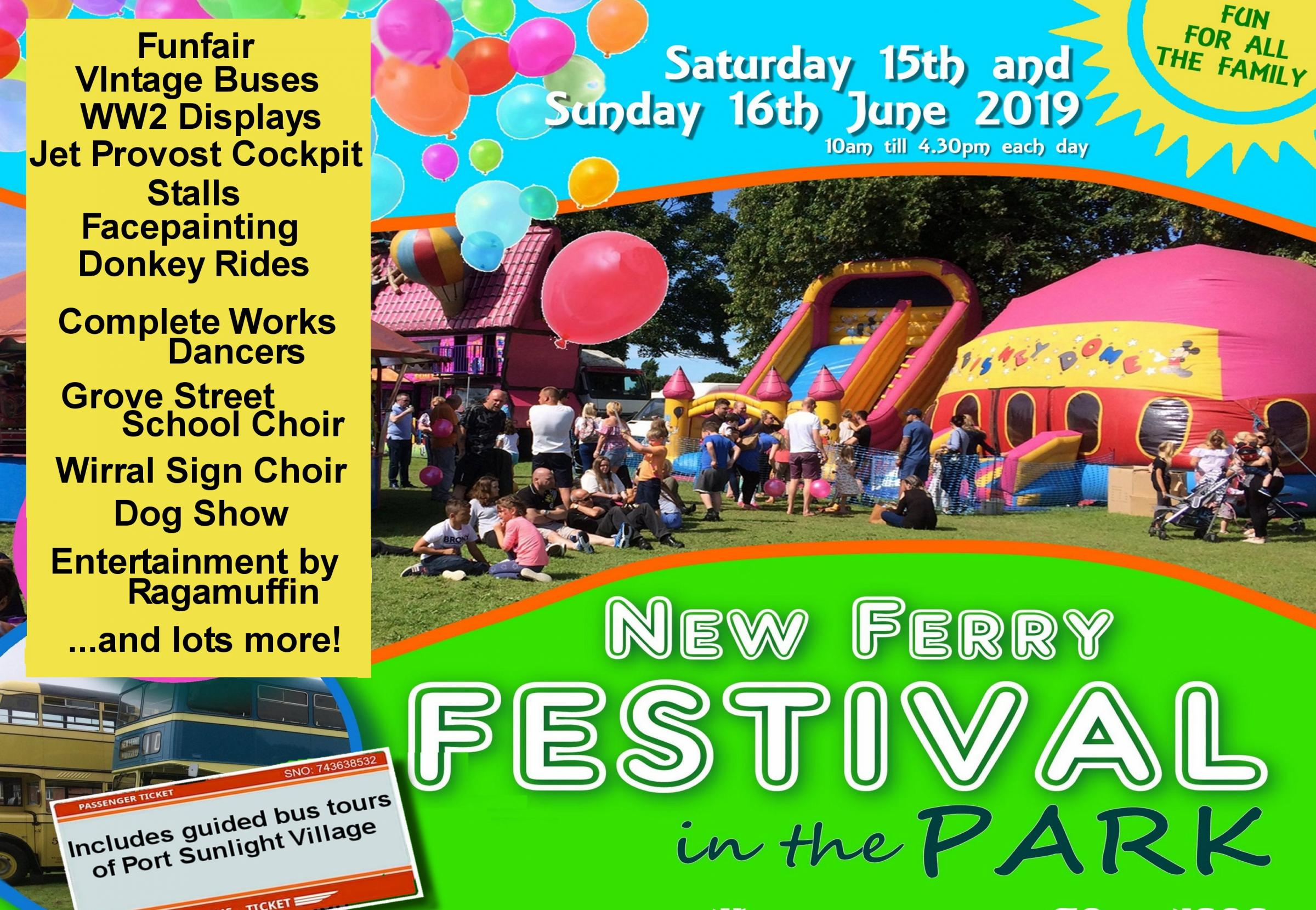 New Ferry Festival in the Park