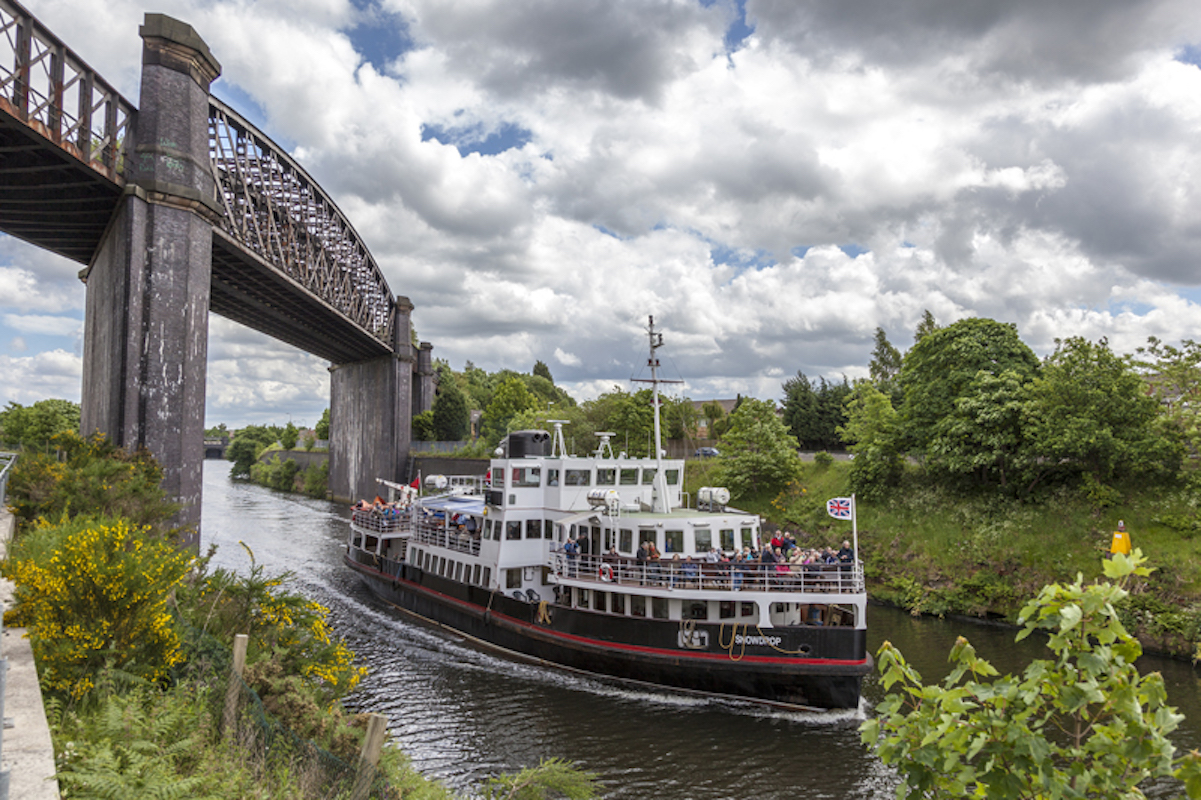 MANCHESTER SHIP CANAL CRUISE WITH MERSEY FERRIES!